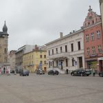 A windy day in the city of Torun